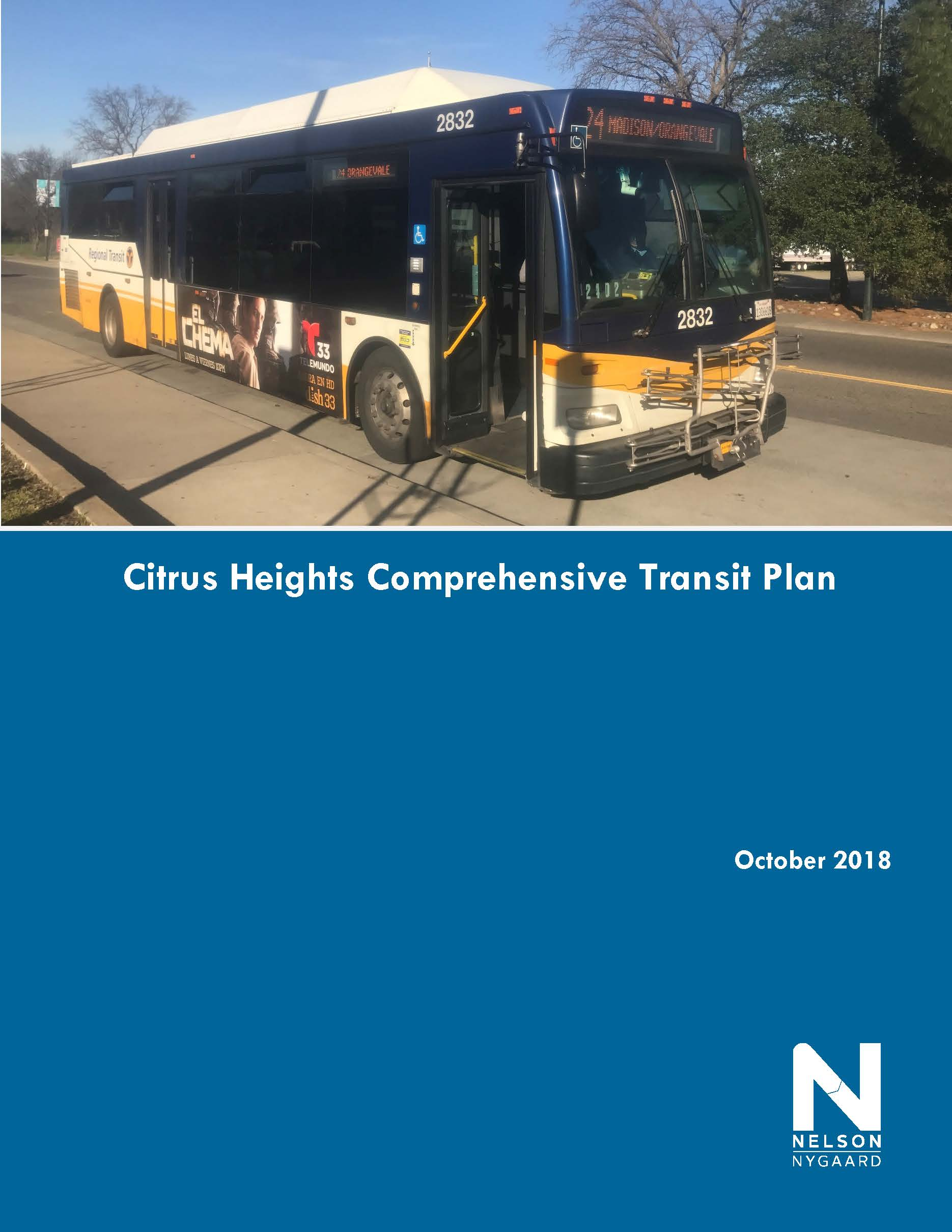 Cover page Citrus Heights Transit Plan Final Report v12