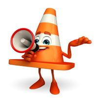 45445906-construction-cone-character-with-loudspeaker