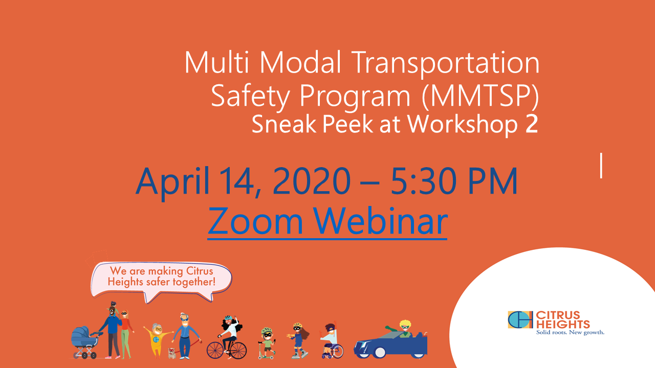 Multi Media Transportation Safety Program - Workshop #2 Sneak Peek!