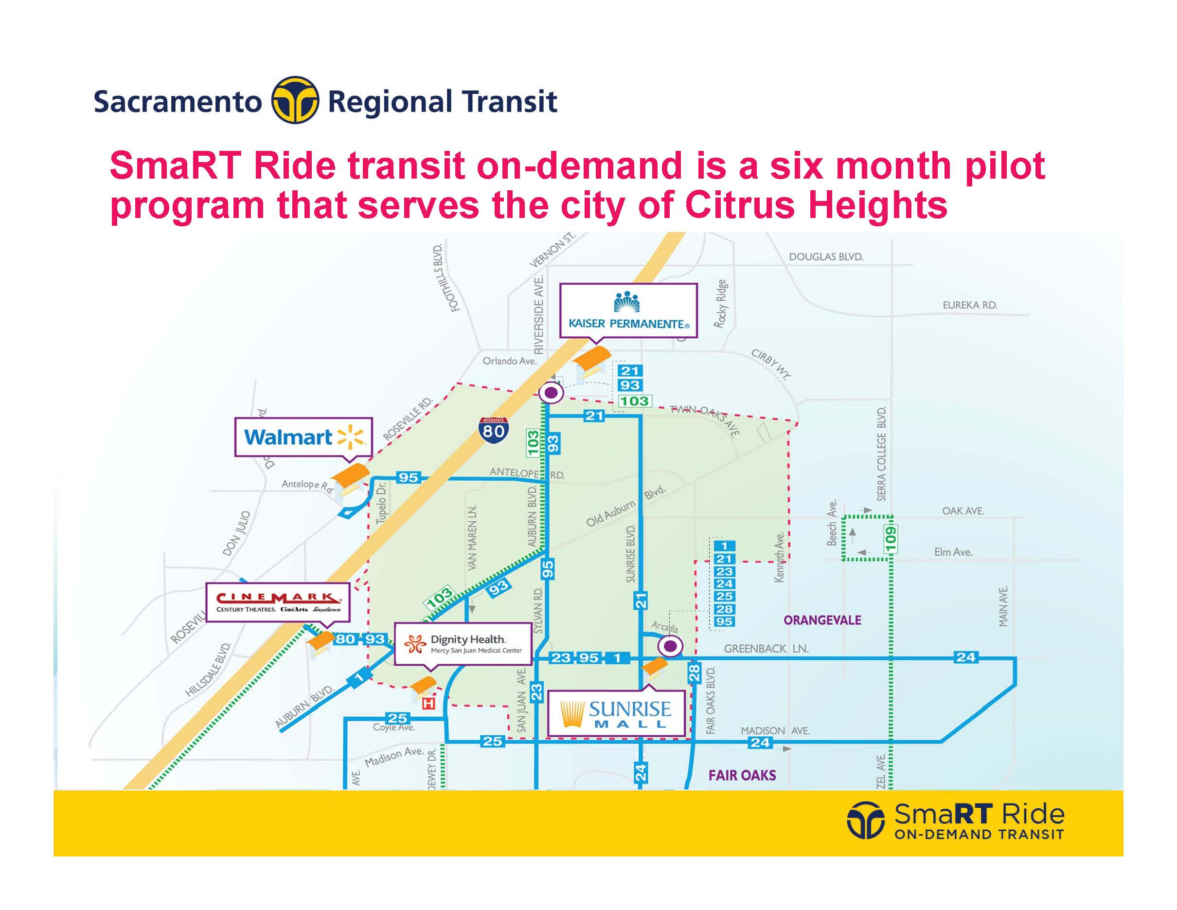 SmaRT Ride CH Map only